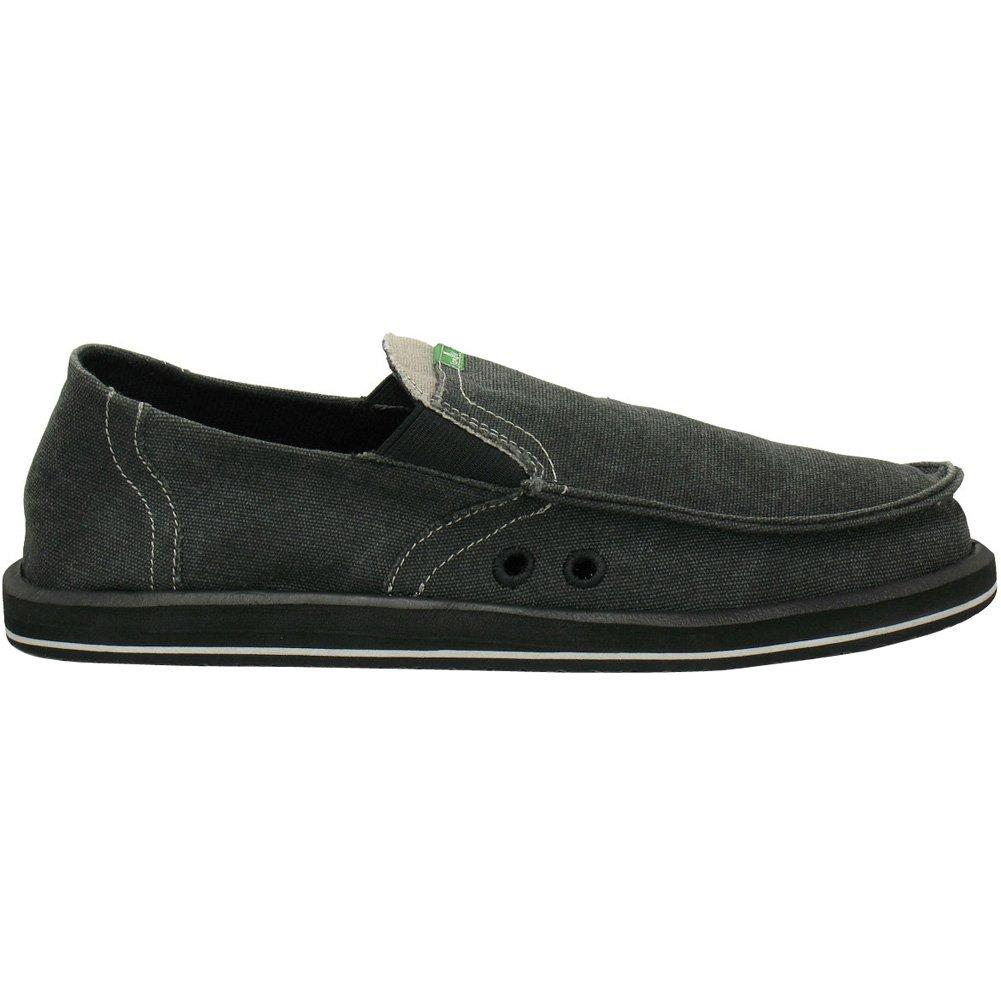 Sanuk Pick Pocket Men's Sidewalk Surfer Fashion Footwear - Charcoal/Size 13 by Sanuk (Image #1)