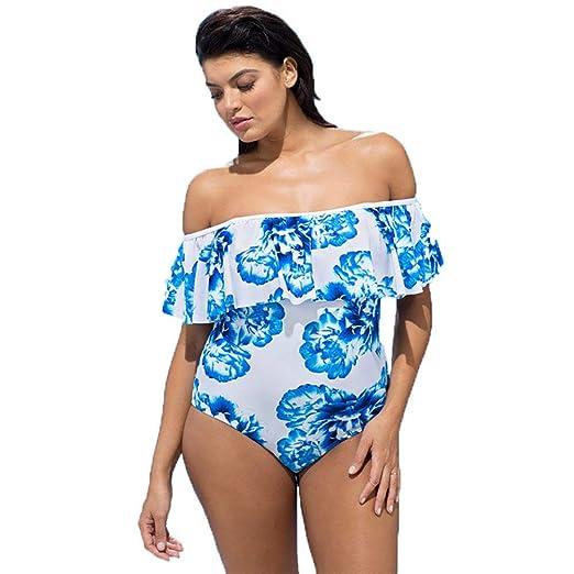 ACOMG Bikini para Mujer Tallas Grandes Traje de baño, Traje de ...
