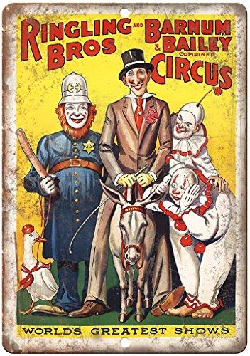Adkult Ringling Bros Barnum Bailey Circus Poster 10