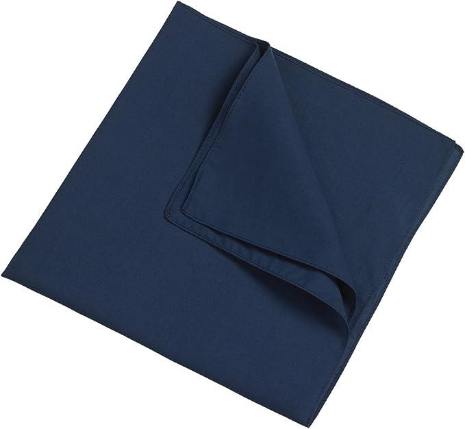 "Cloud9basic Unisex Men Women Plain Colour 100/% Cotton Bandana Head Neck Scarf Size: 55 x 55cm 22/"" x 22/"" Perfect Group Bandana"