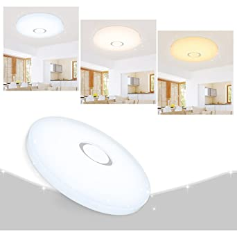 VINGO® 50W LED Deckenleuchte Sternenhimmel Deckenlampe Wand ...