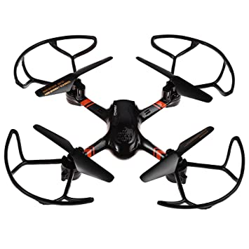 Dron quadcopter Super-F color Negro: Amazon.es: Juguetes y juegos