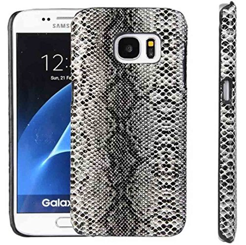 Galaxy S6 Edge+ Shell, OMORRO New Luxury Vivid Snakeskin Texture Awesome Eye-Catching Back Ultralight Thin Anti-Scratch PU Protection Case Cover For Samsung Galaxy S6 Edge Plus
