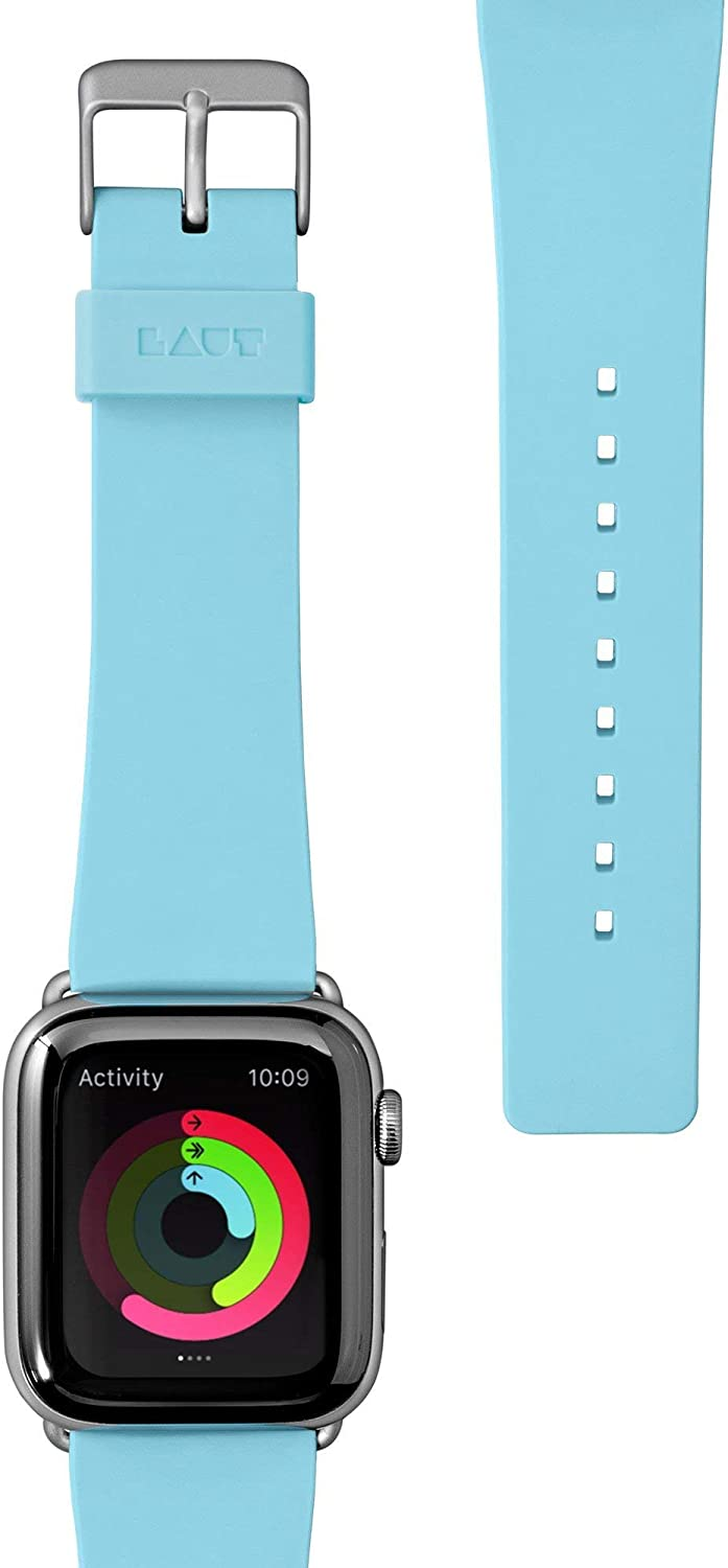 LAUT - HUEX Pastels Watch Strap for Apple Watch Series 1/2/3/4/5 (42mm / 44mm • Baby Blue)