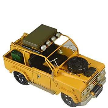 VJUKUBWINE Hojalata Land Rover Militar Modelo De Vehículo ...