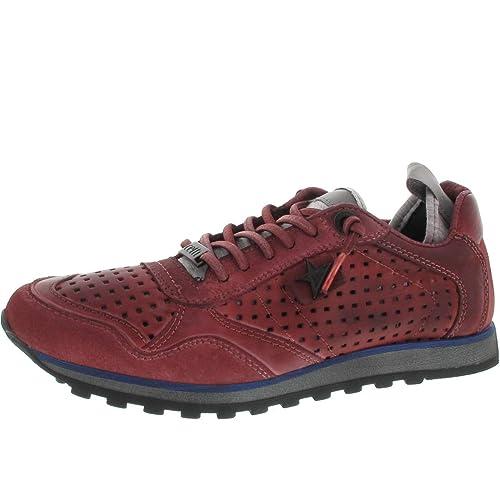 Cetti - Zapatillas Mujer , color rojo, talla 36: Amazon.es: Zapatos y complementos