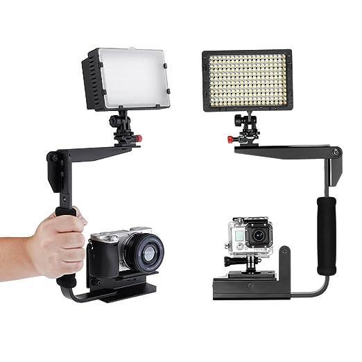 2 opinioni per Neewer® CN-160 LED Dimmabile di Alta Potenza Luce Video per Canon, Nikon, Sony,