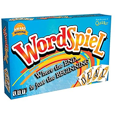 WordSpiel Card Game: Toys & Games