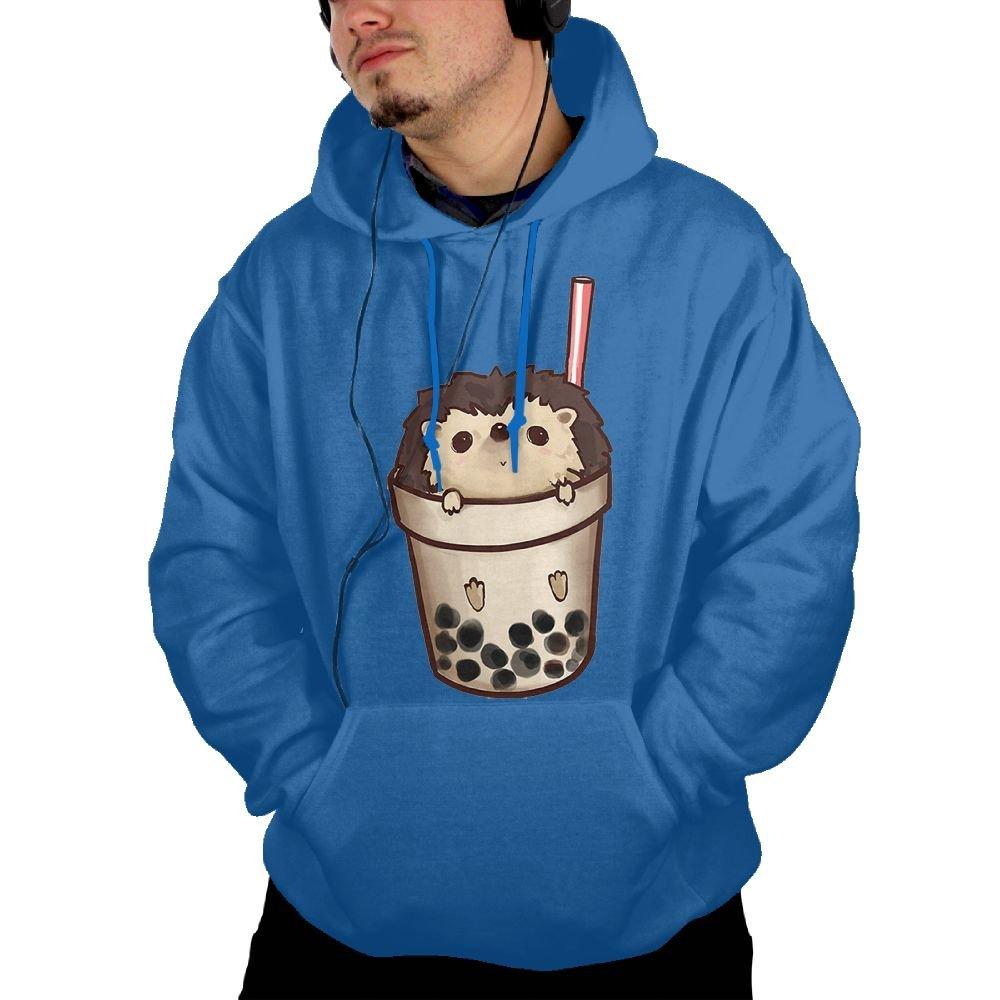 Obachi Boba Hedgehog S Pullover Pocket Hooded Shirts