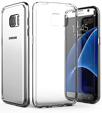 the latest 5e14b ab0c4 Amazon.com: Galaxy S7 Edge Clear Case, Vena [Retain] Slim Protection ...