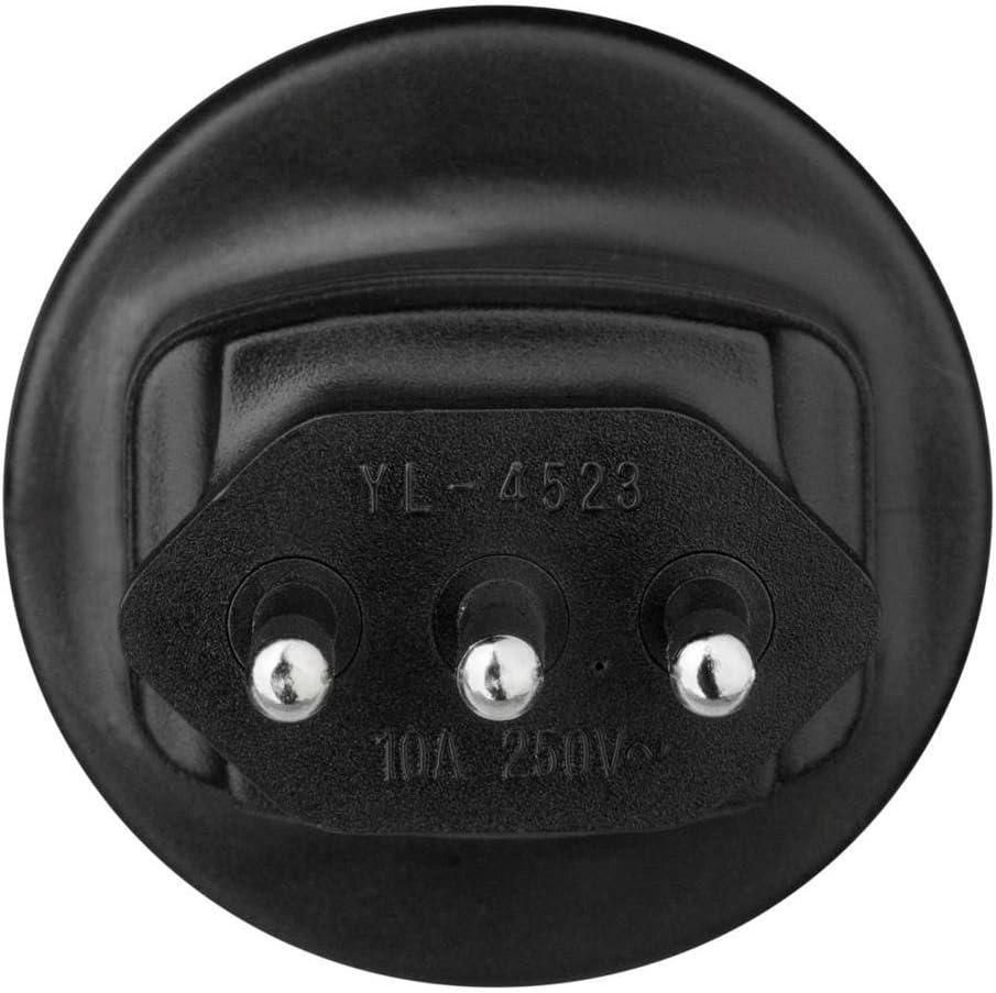 Hama 108881 adattatore per presa di corrente Tipo G UK Tipo F Nero
