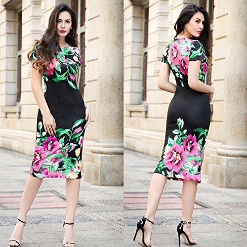 La Para De De Vestidos Mujer Vestido Vestido Mujer Mujer JIALELE Fiesta Para Vestuario El Negro Fiesta q7gOtzxw