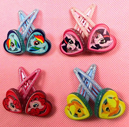 Cartoon Hair Clips Accessories (Free, 4 colors)