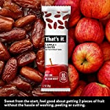 That's it. Apple + Dates 100% Natural Real Fruit