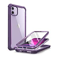 i-Blason Ares Case for iPhone 11 6.1 inch (2019 Release), Dual Layer Rugged Clear...
