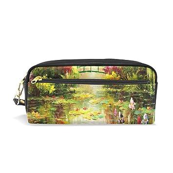 JSTEL Monet Painting - Estuche escolar para niños ...