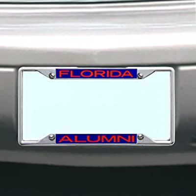 NCAA Florida Gators License Plate Frame Alumni : Sports Fan License Plate Frames : Sports & Outdoors