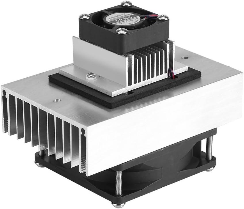 Garosa DC12V Sistema De Enfriamiento De Semiconductores De Refrigeración Termoeléctrica De Bricolaje Refrigerador del Refrigerador Kit De Ventilador Mini Acondicionador De Aire