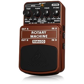 Behringer RM600 4033653053198 - Altavoz rotatorio para guitarra, color marrón