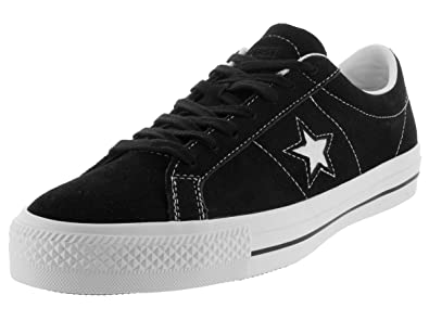 Converse Unisex One Star Skateboard Sneaker Black/White 149908C (12 B(M)