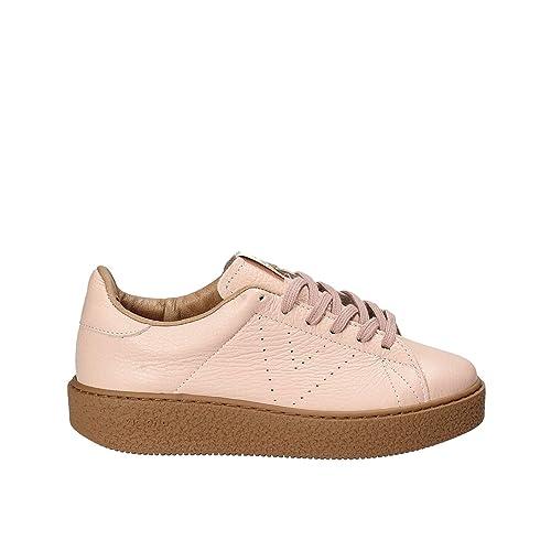 Victoria Zapatos de Las Mujeres Bajas Zapatillas de Deporte 262104 Plataforma Rosa: Amazon.es: Zapatos y complementos
