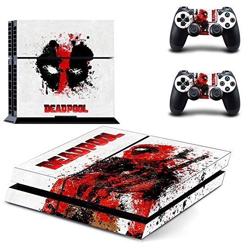 SuperHero Sony Playstation 4 Skin Sticker Vinyl Stickers for PS4 Console x1 Controller Skins x2 by...