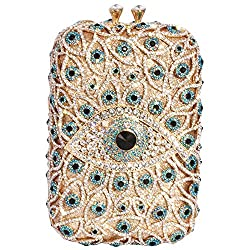 Retro Rhinestone Crystal Evening Clutch