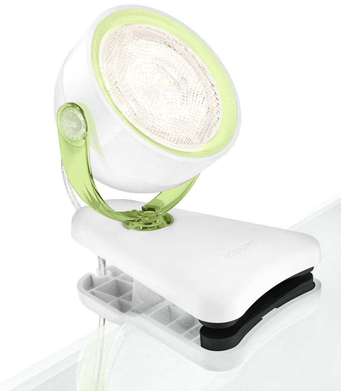 Philips myLiving LED Klemmspot Dyna schwarz 532313016