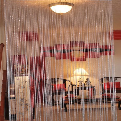 Asian Home String Curtain Drapery Room Divider Partition