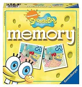 Bob Esponja - Memory (Ravensburger 22048 9): Amazon.es ...