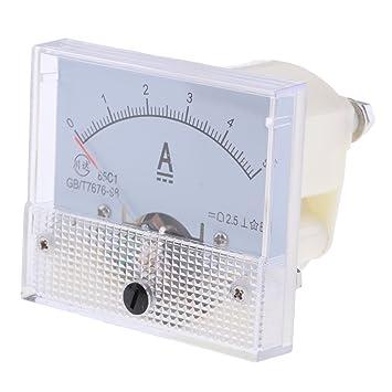 0 1 mA bis 0 20A PICK DC Amperemeter Analoge Panel Amp Meter Analoge Strom