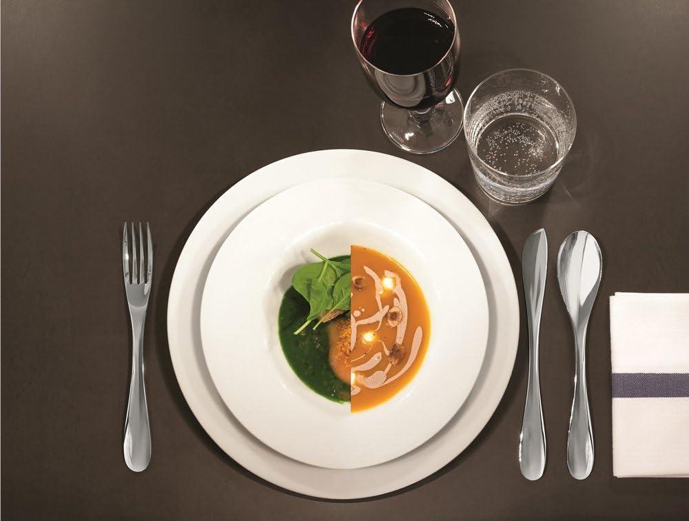 Set de 4 Pi/èces Alessi Wa10//35 Eat.it Cuill/ère /à latte Macchiato en Acier Inoxydable 18//10 Brillant