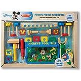 Melissa & Doug Disney Mickey Mouse Deluxe Wooden Tool Set