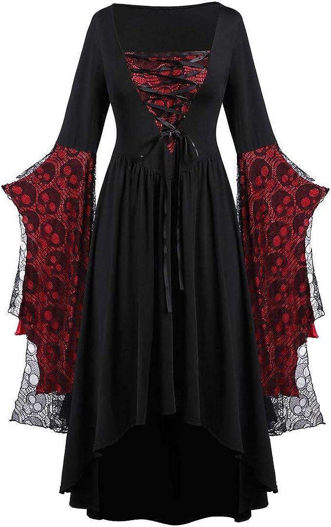 Amazon.com: YiYLunneo - Vestido largo para mujer, estilo ...