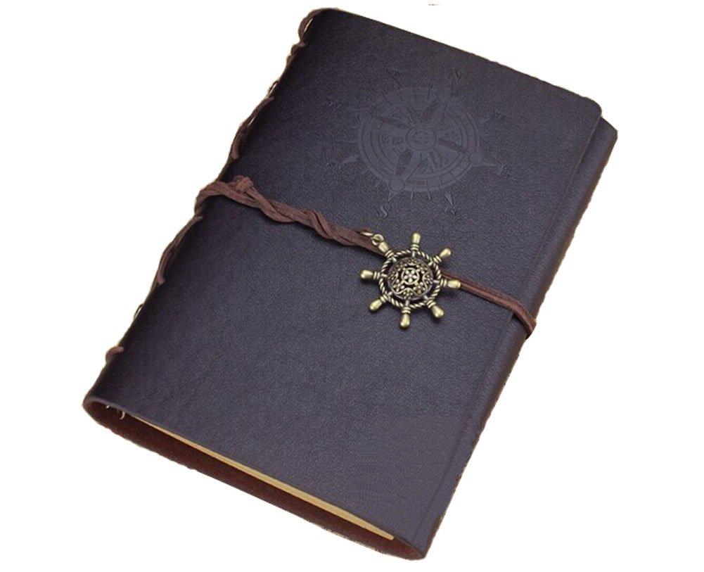 5 Star Business Supplies--European Retro Loose Leaf Notebook [A6, Black]