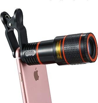 Telescopio para teléfono celular, lente de cámara de smartphone ...