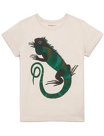 9099fa08f8bac MONOPRIX KIDS - T-Shirt Manches Courtes imprimé Iguane - Garçon - Taille   5