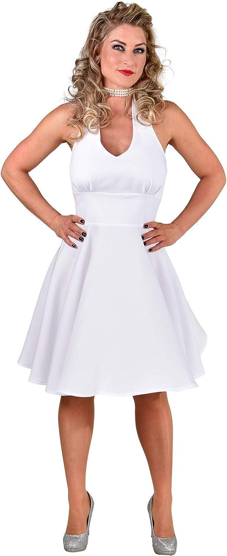 Marilyn Monroe – Vestido Blanco, Grande 16/18: Amazon.es ...