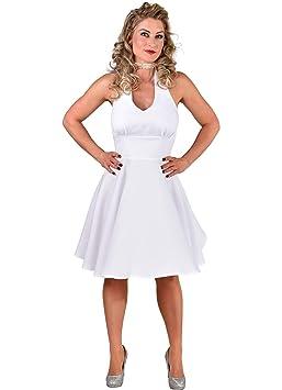 68Animalerie Robe Monroe Xs Blanche Marilyn QdCsthr