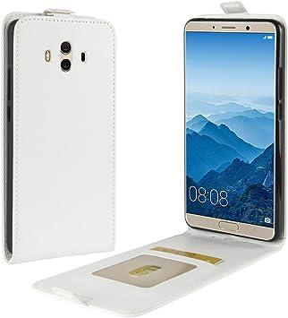 Funda® Capirotazo Billetera Funda para Huawei Mate 10 (Blanco ...