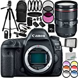 Canon EOS 5D Mark IV DSLR Camera with Canon EF 24-105mm f/4L IS II USM Lens 18PC Accessory Kit - Includes 3 Piece Filter Kit (UV + CPL + FLD + MORE - International Version (No Warranty)