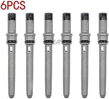 New Set of 6 Injector Connector Tubes 2872395 For Dodge Cummins 6.7L /& 5.9L 24V