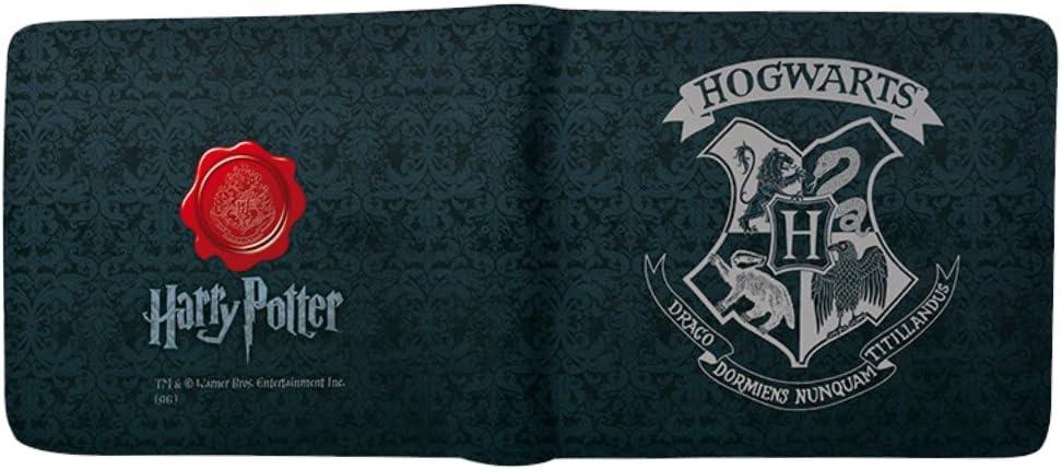 TALLA Estándar. HARRY POTTER Cartera de Escudo de Hogwarts ABYBAG179.