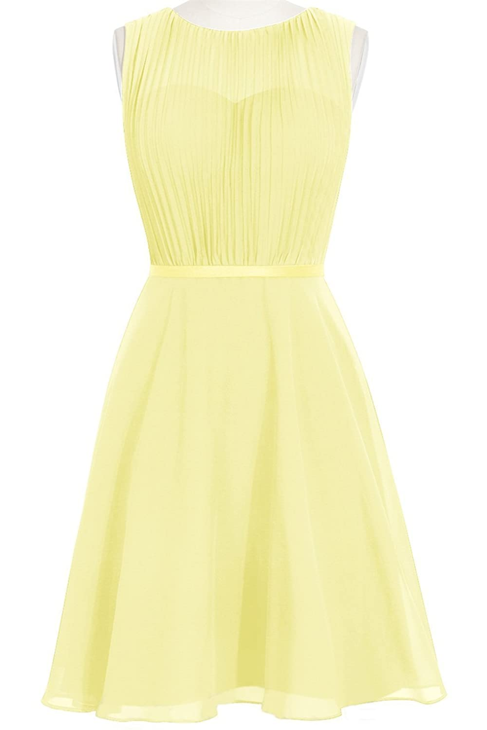 MittyDresses 2015 New Cocktail Homecoming Dresses for Girl Evening Party Size 18W US Daffodil