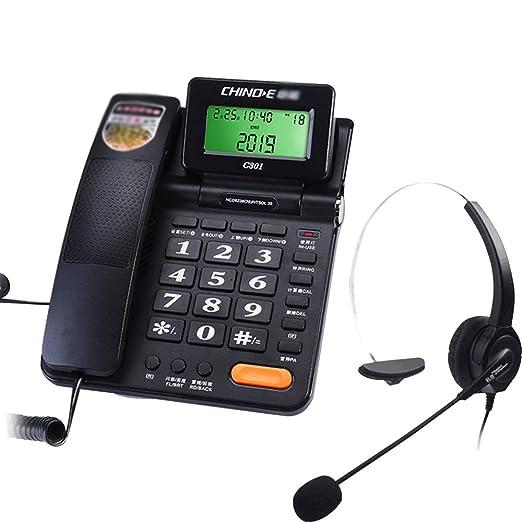 Fixed telephone TeléFono Fijo Sin BateríA, DiseñO De Interfaz Dual ...