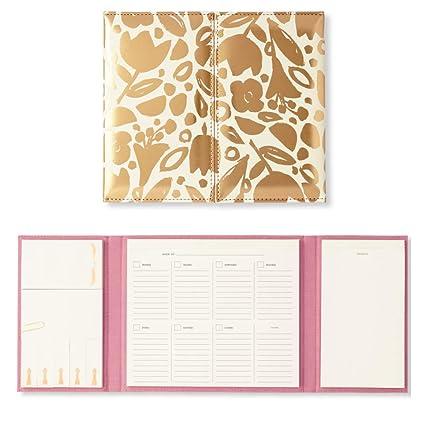 Kate Spade New York Womens Desktop Weekly Calendar & Folio ...