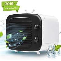 VAZILLIO Mobile Klimaanlage Tragbarer Mini Klimaanlage USB Mini Luftkühler Ventilator Luftbefeuchter Luftreiniger für Zuhause, Büro, Reisen, Outdoor