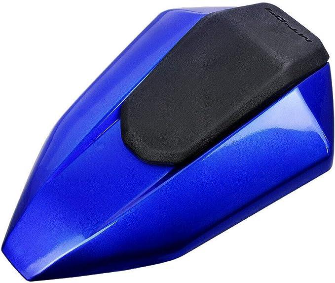 Bleu Couverture de capot de si/ège arri/ère de moto peinte pour 2013-2017 Yamaha FZ07 MT07 FZ-07