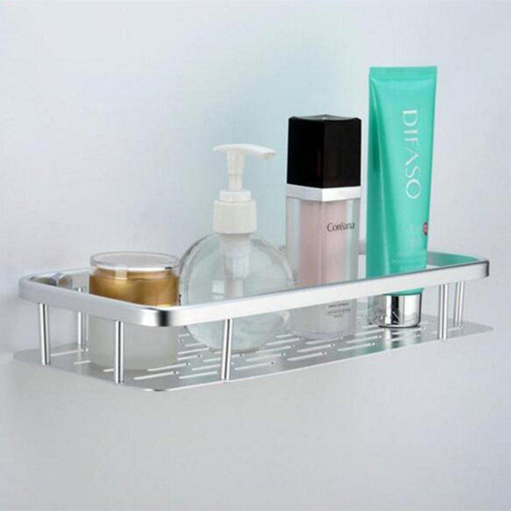Amazon.com: Homeself Aluminum Bathroom Shelf, 12.4 Inch Wall Mount ...