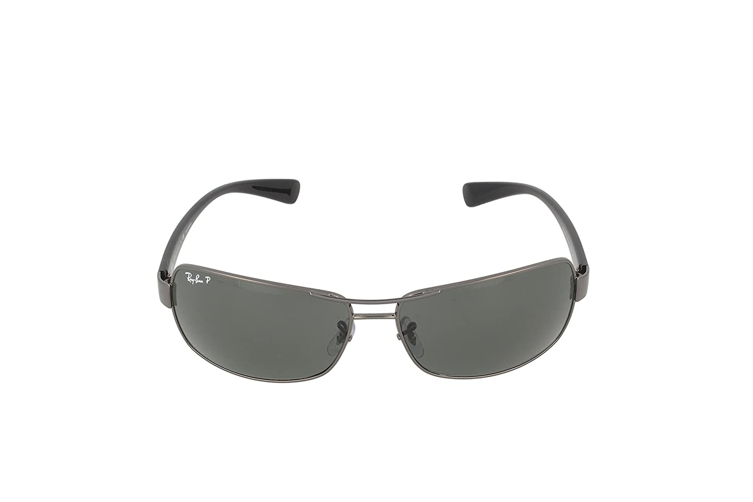 bf3a2e1fe7128 Ray-Ban 0rb3379-01004 58 64rb3379 - anteojos de sol polarizadas  rectangulares (64 mm)  Ray-Ban  Amazon.com.mx  Ropa
